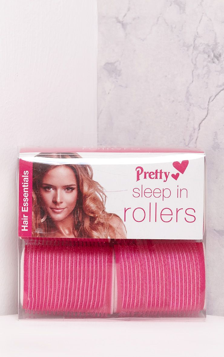 Four Pack Large Pink Sleepin Rollers