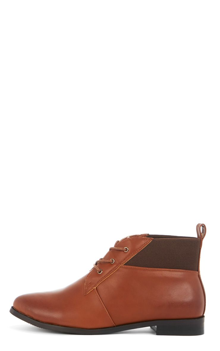 Zaya Tan Shoe Boot 1