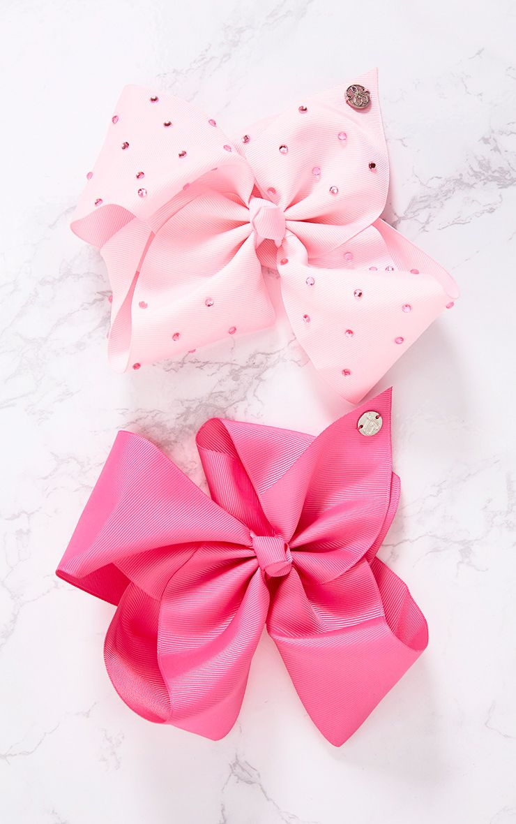 JoJo Bow Pink 2 pack