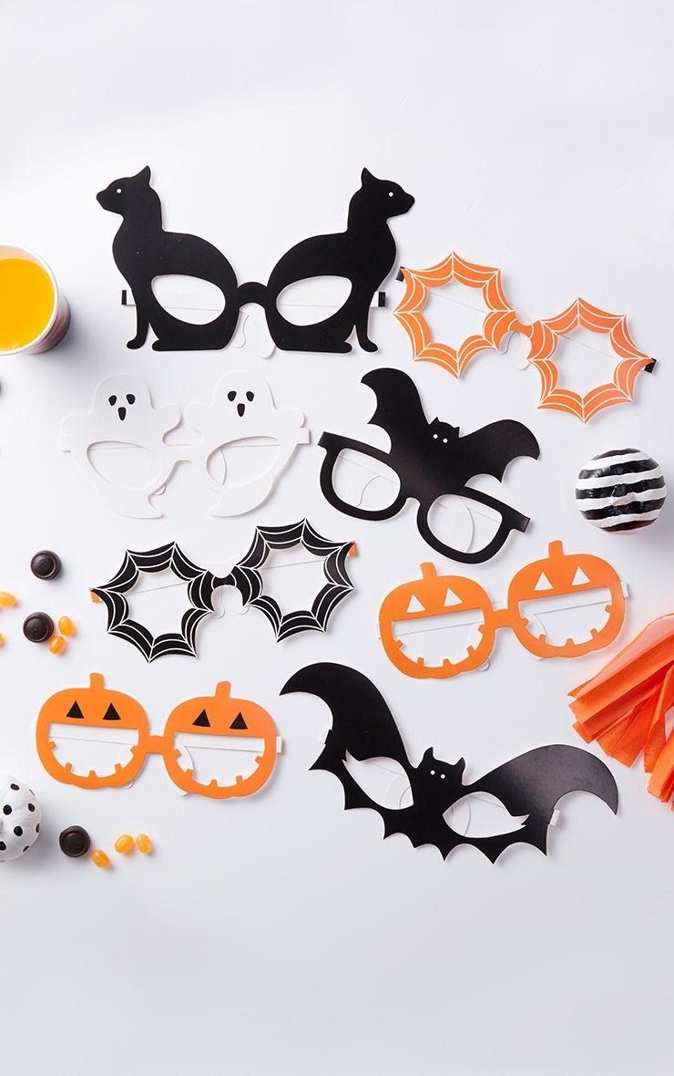 Halloween Creepy Paper Glasses