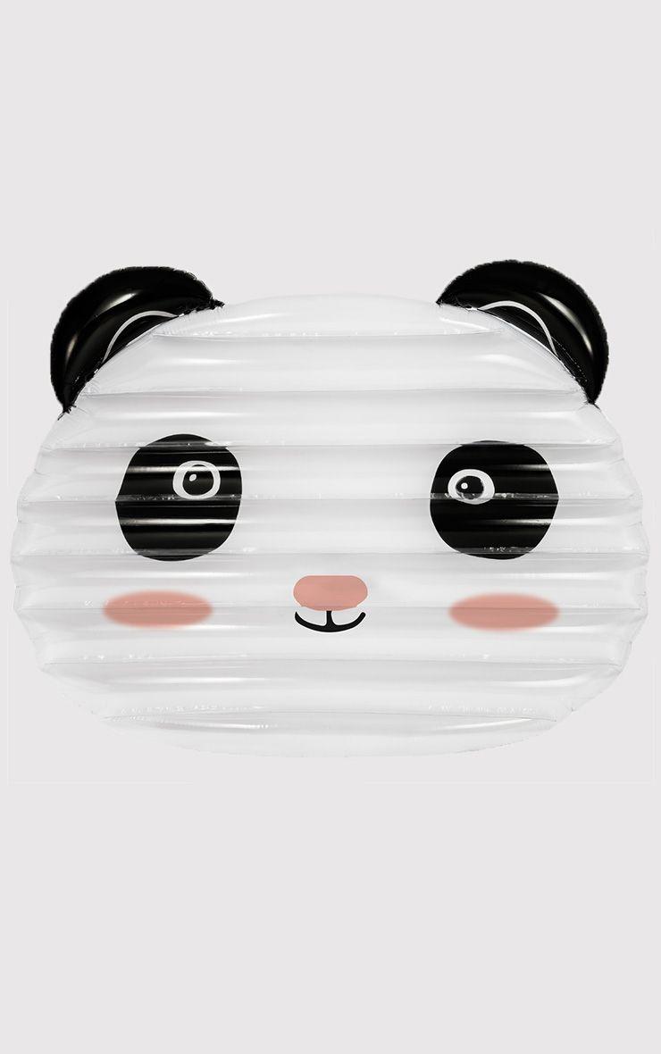 White Lazy Panda Float