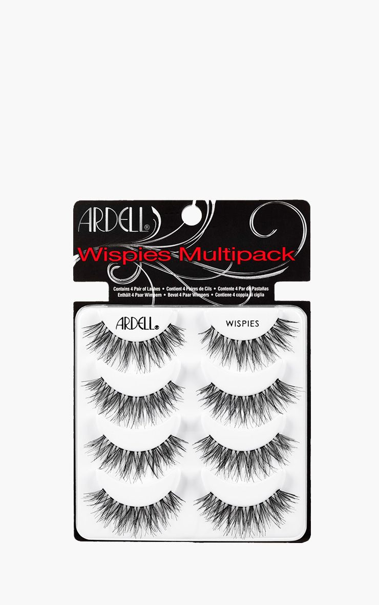Ardell Multipack Of 4 Wispies False Eyelashes