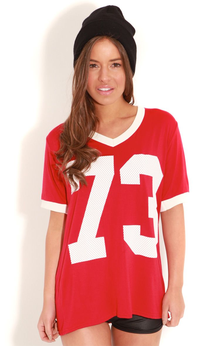 Madison Red '73' Player Tee 1