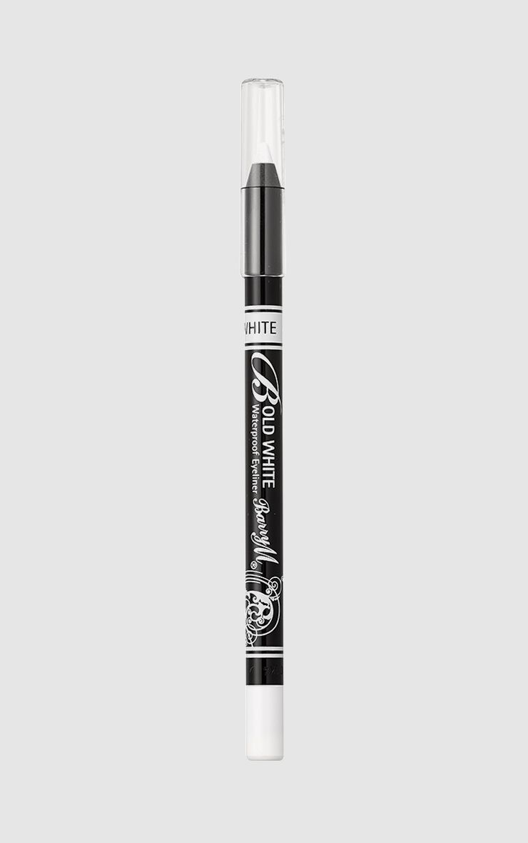 BarryM Bold Waterproof Eyeliner - White