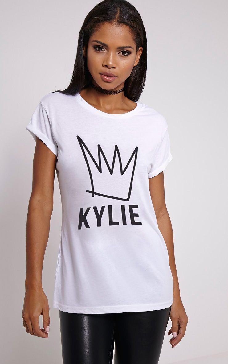 White Slogan T-Shirt 1
