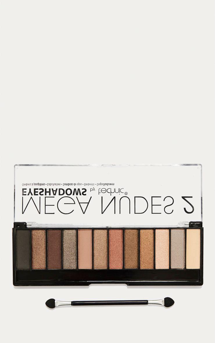 Technic Mega Nudes 2 Eyeshadow Palette 1