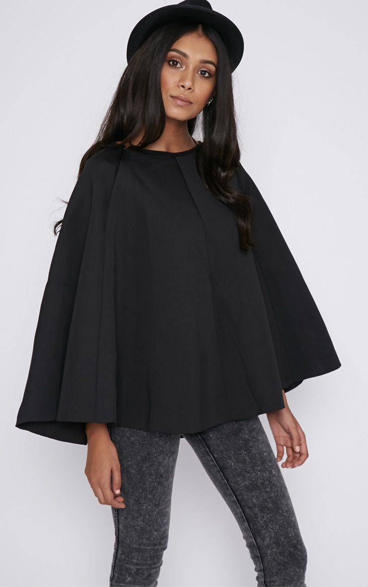 Dawn Black Cape  1