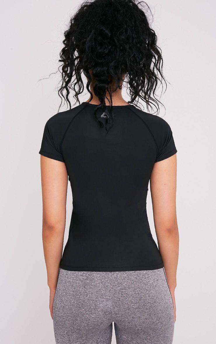 Tia t-shirt de sport à manches courtes noir 2