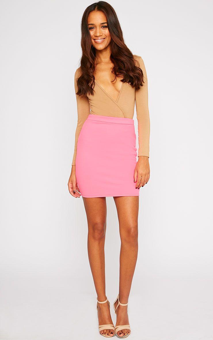 Grace Pink Mini Skirt 1