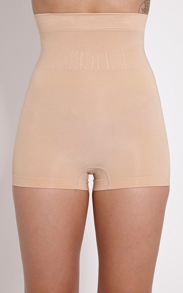 Nude High Waisted Leg Control Brief 1