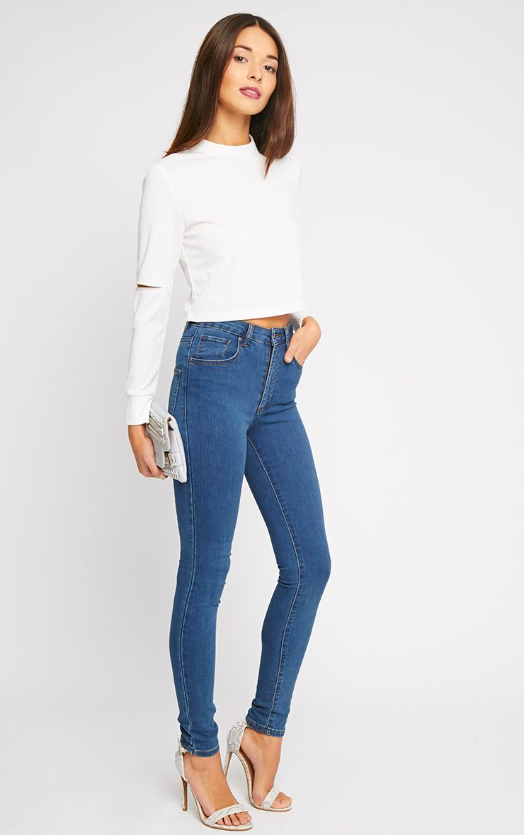 Kat Blue Skinny Jean 1