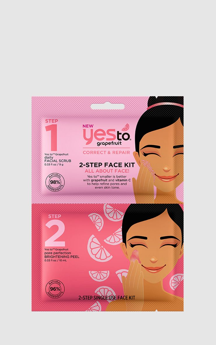 Yes To Grapefruit 2 Step Face Kit