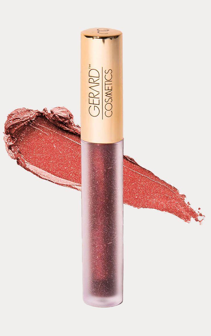 Gerard Cosmetics Metal Matte Liquid Lipstick - Rose Gold