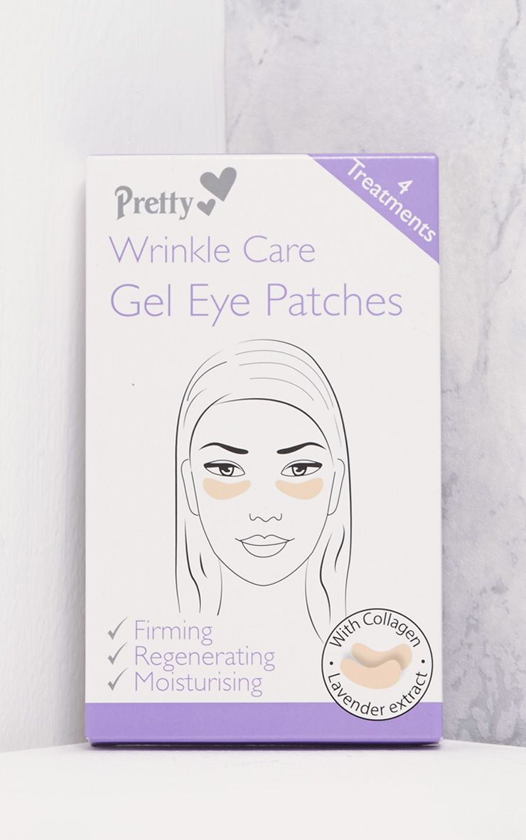Four Pack Wrinkle Care Gel Eye Patches