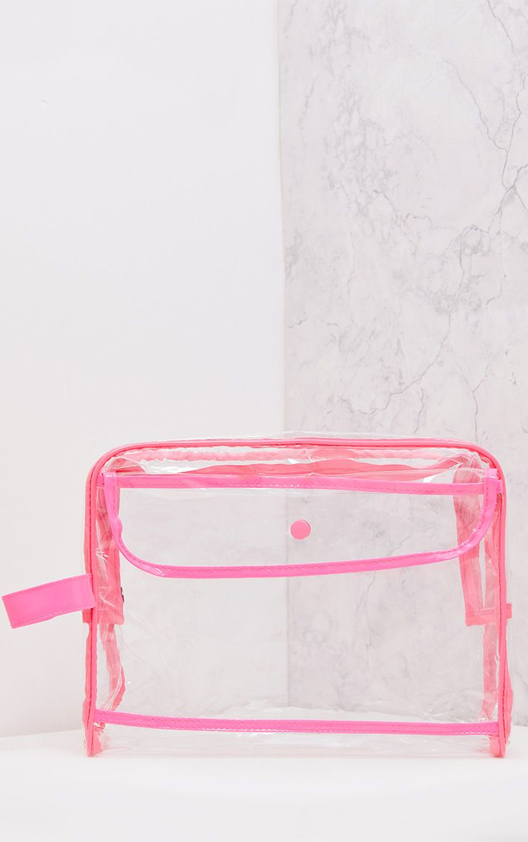 Clear Cosmetics Bag