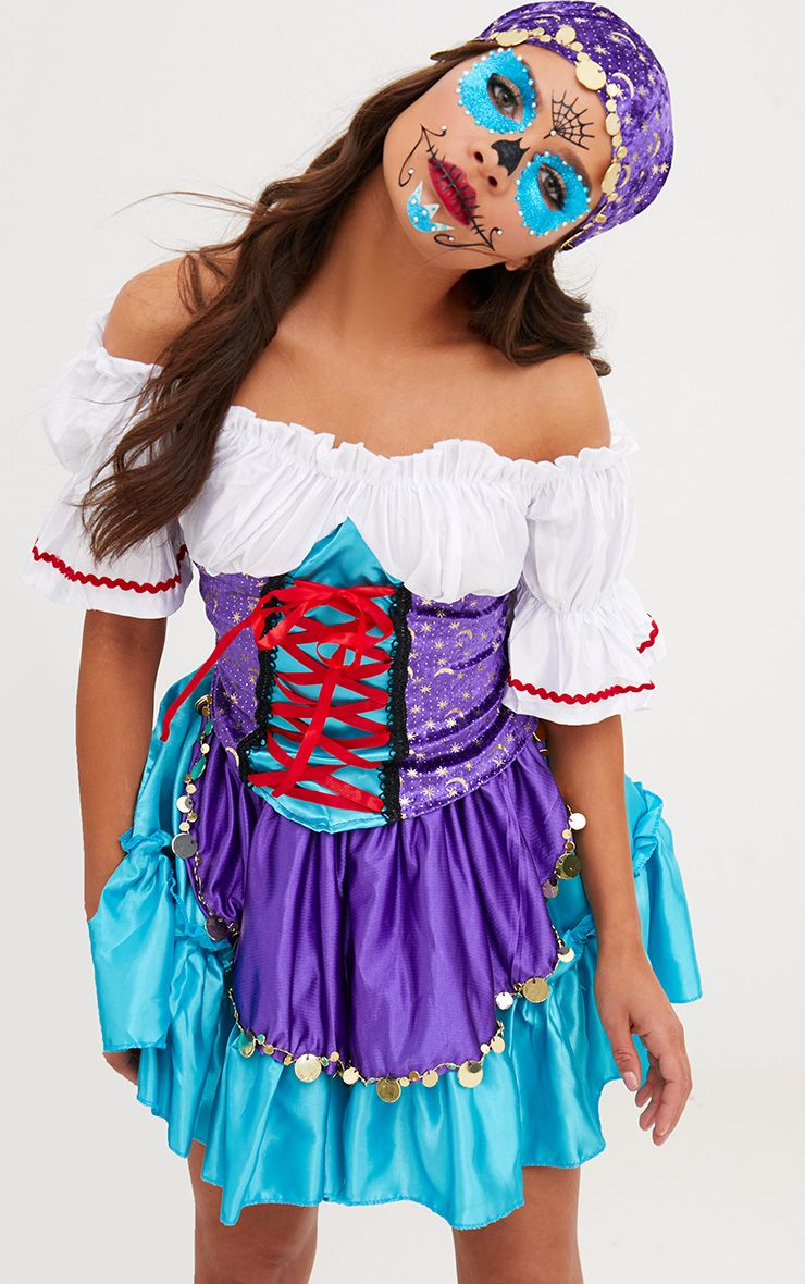 Gypsy Fancy Dress Costume