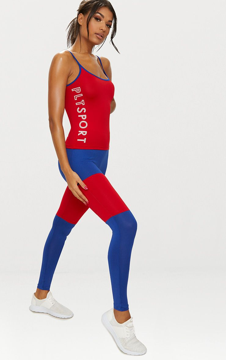 Red PLT Sports Vest