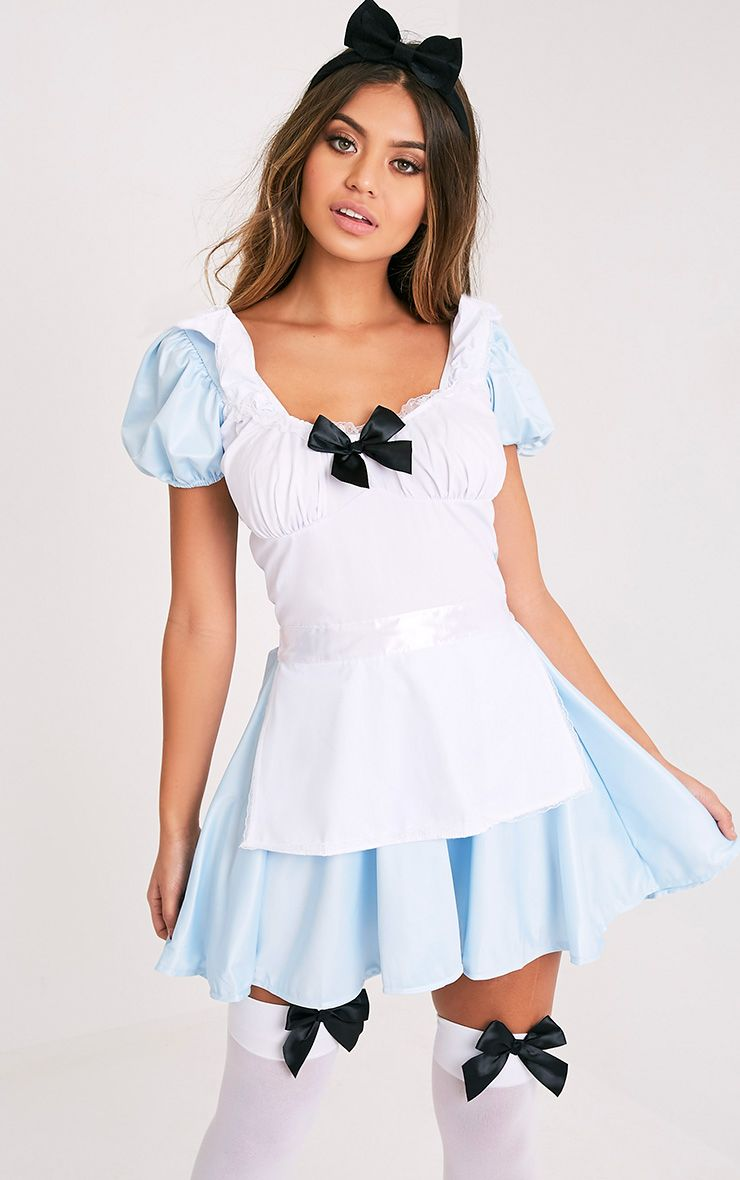 Miss Wonderland Blue Fancy Costume