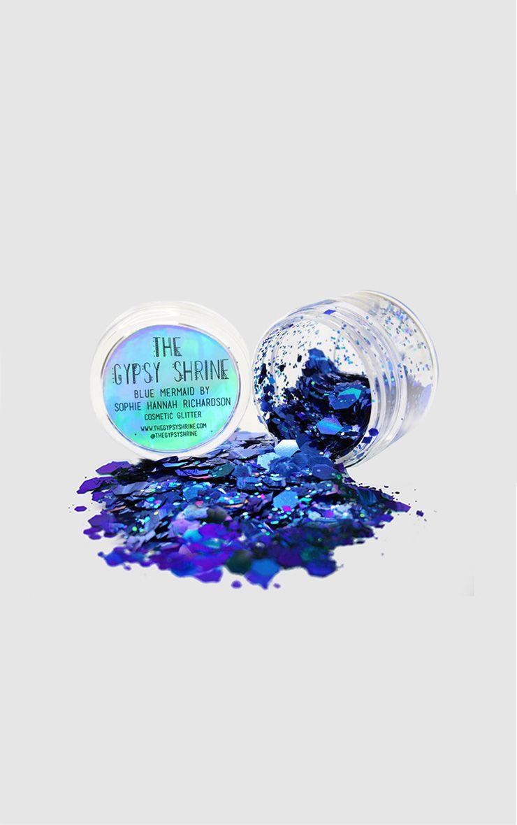 The Gypsy Shrine Blue Mermaid Glitter Pot