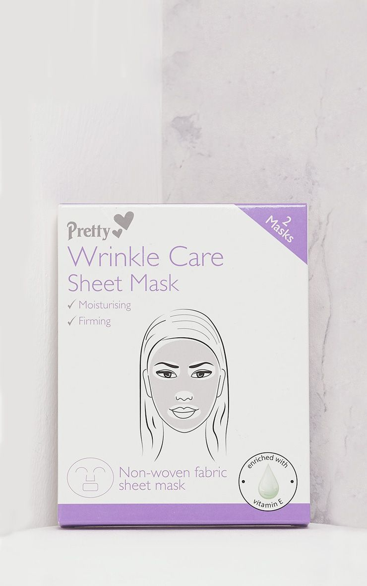 Pretty White Wrinkle Care Sheet Mask