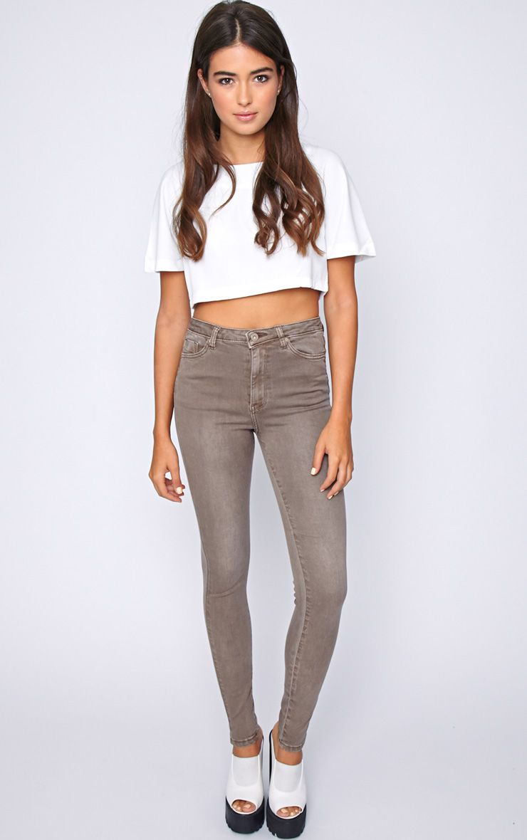 Avis Brown Super Skinny Jean -L 1