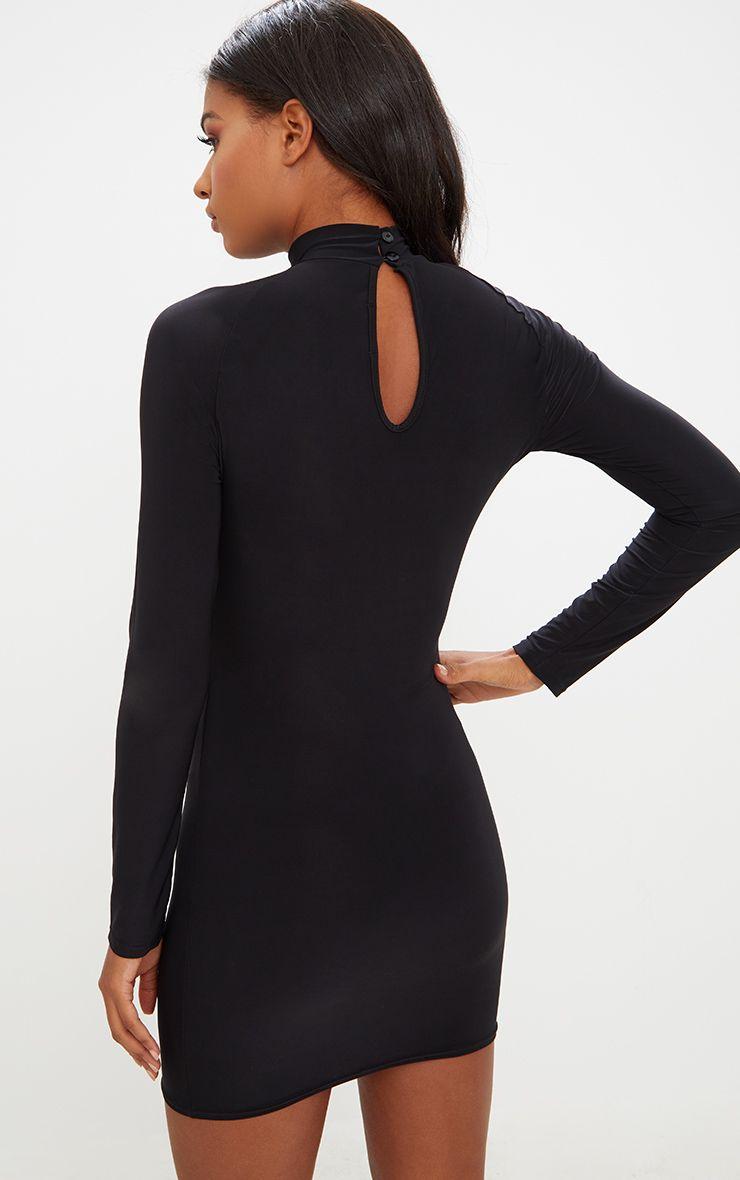 Up long arm bodycon dresses sleeve