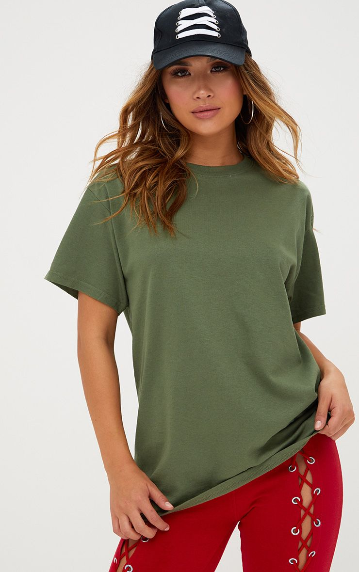 Ultimate Green Oversized T Shirt