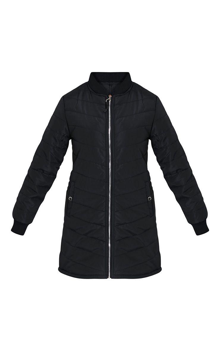 Dani manteau rembourré noir 3