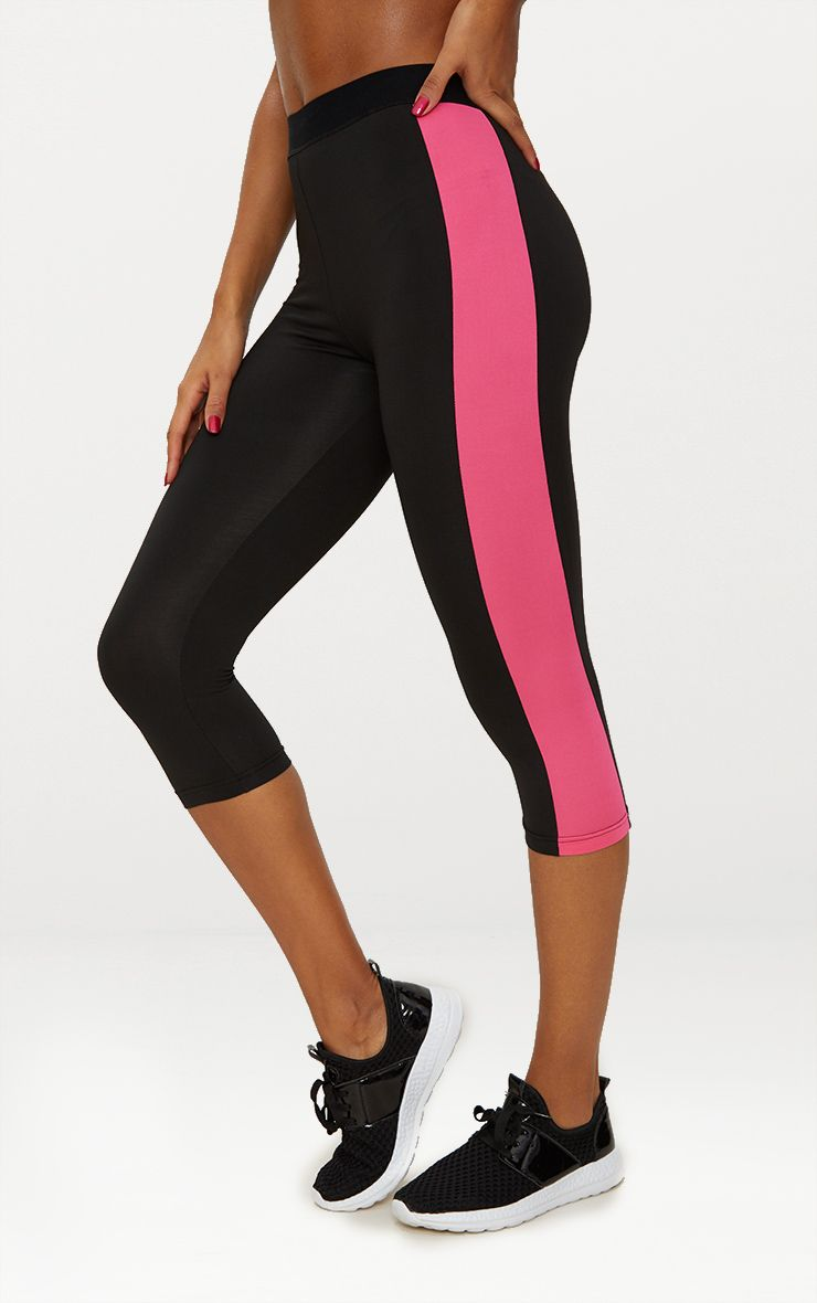 Black 3/4 Sports Leggings