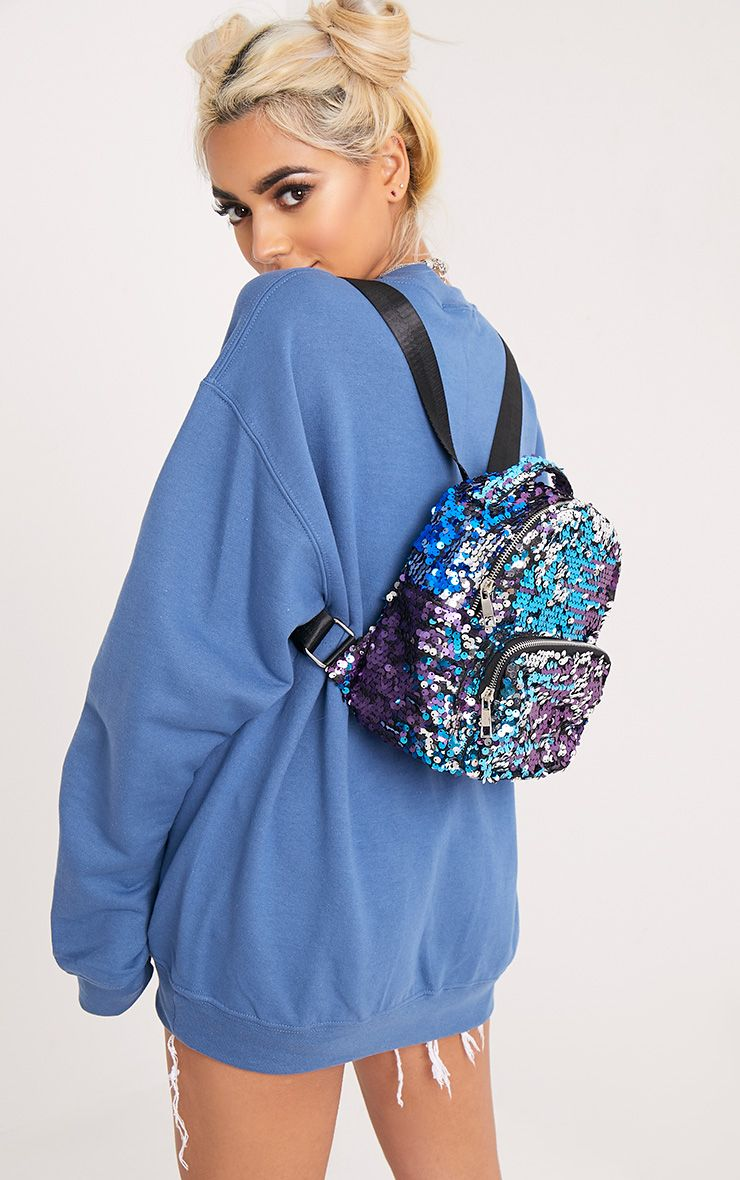 Lorie Multi Sequin Backpack