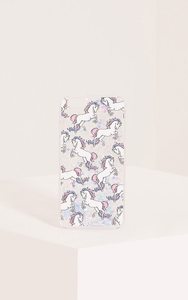 Glitter Unicorn Iphone 6 Case 1