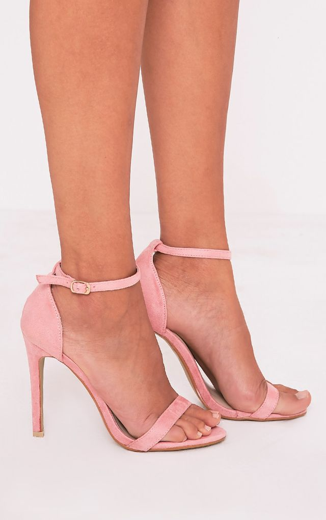 Clover sandales à talons à bride rose 6bd57df585ab