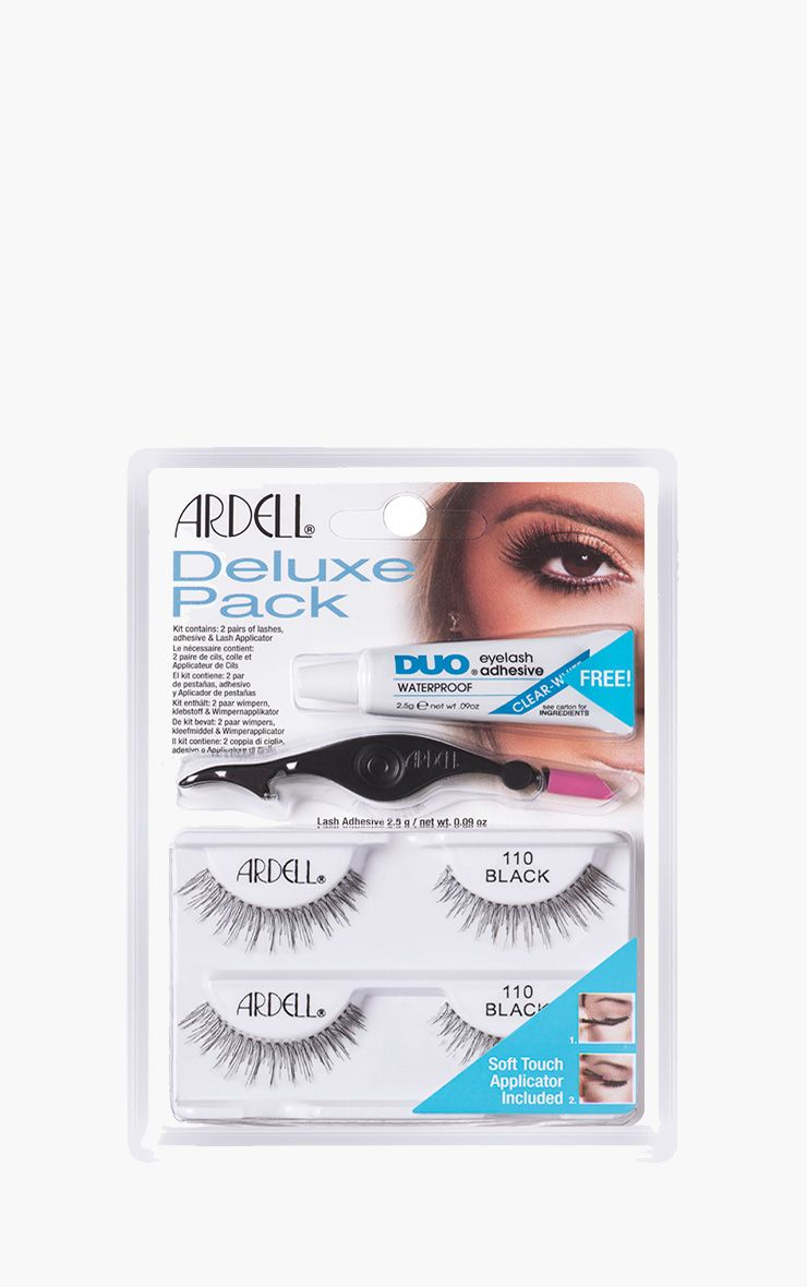 Ardell Deluxe Multipack False Eyelashes and applicator 110