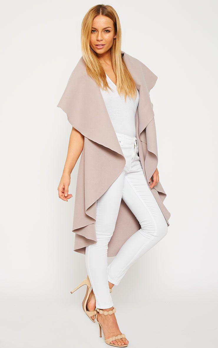 Vivian Dusty Pink Waterfall Waistcoat 4