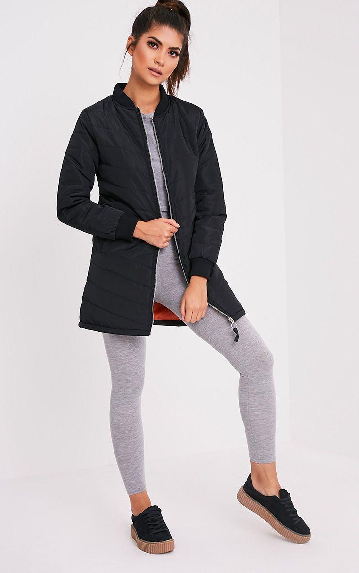 Dani manteau rembourré noir 5