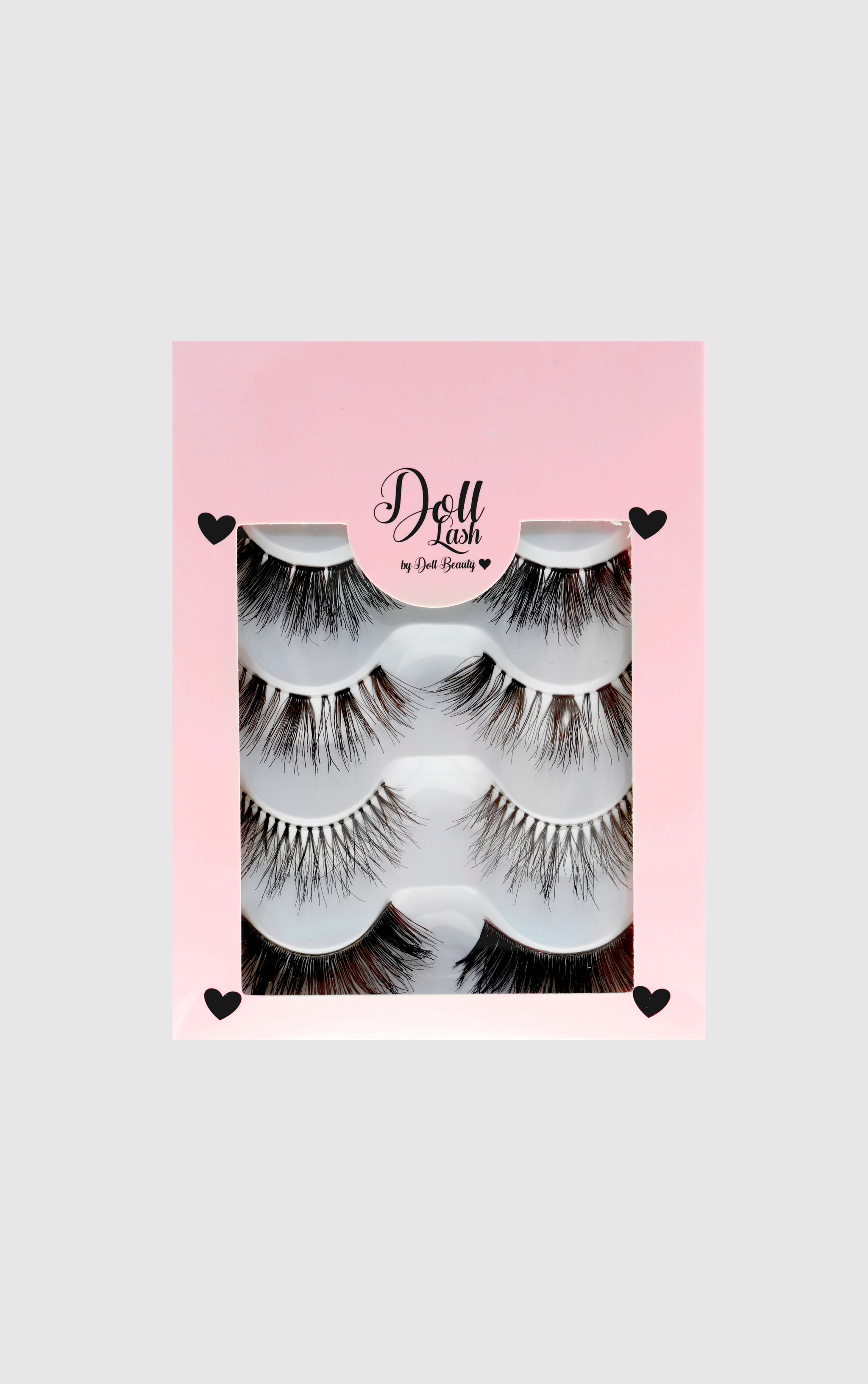 Doll Lash Multipack Of 4 False Eyelashes