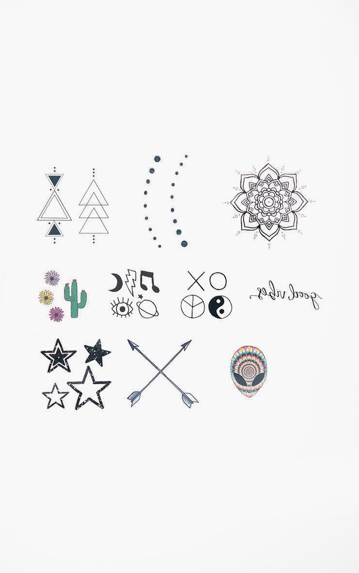 Inked By Dani Festival Temporary Tattoo Pack