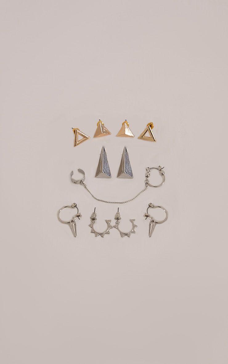 Roya Multi Pack Stud Earrings 1
