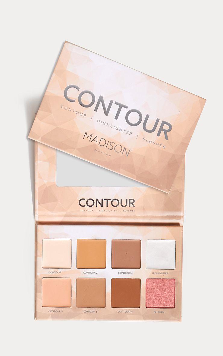 Madison Makeup Contour Highlighter Palette