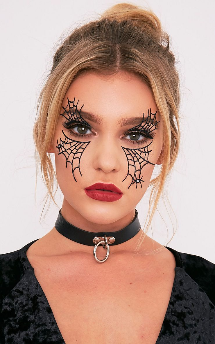 Spider Web Face Stickers