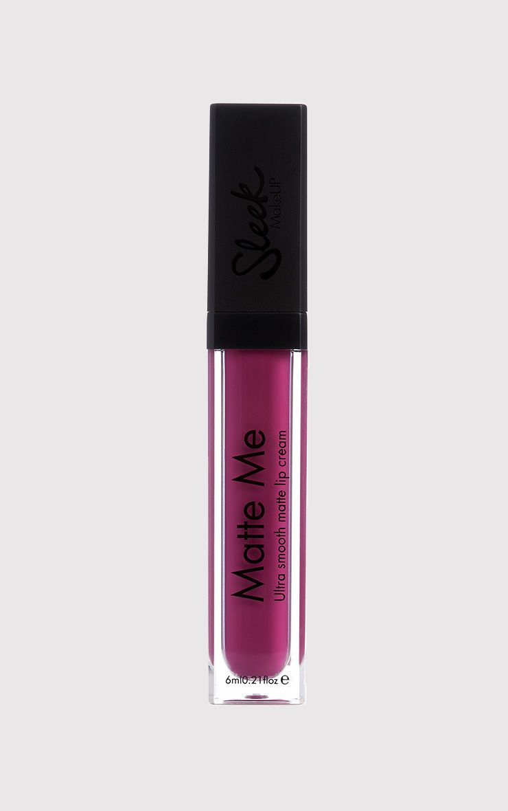 Sleek Fandango Purple Matte Me Liquid Lipstick