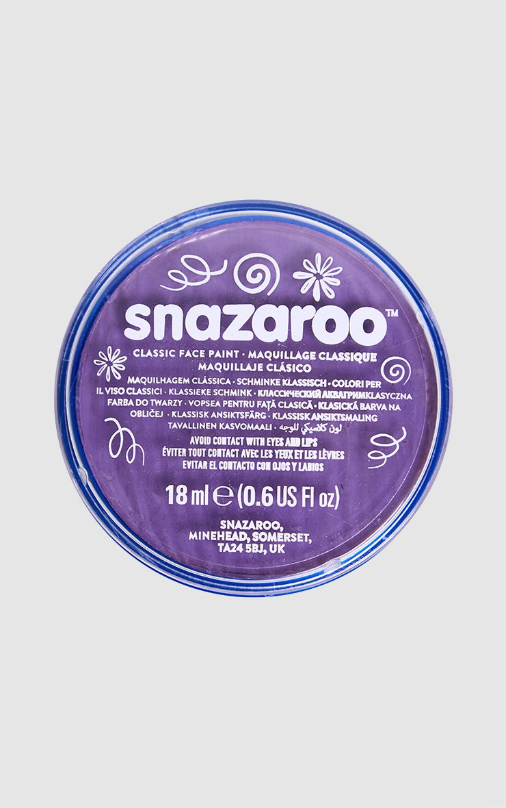 Snazaroo Lilac Halloween Face Paint