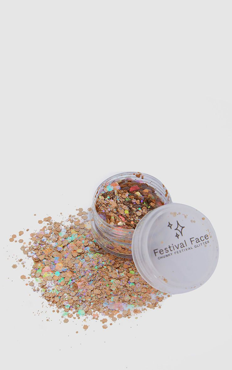 Festival Face Cinammon Toast Glitter Pot