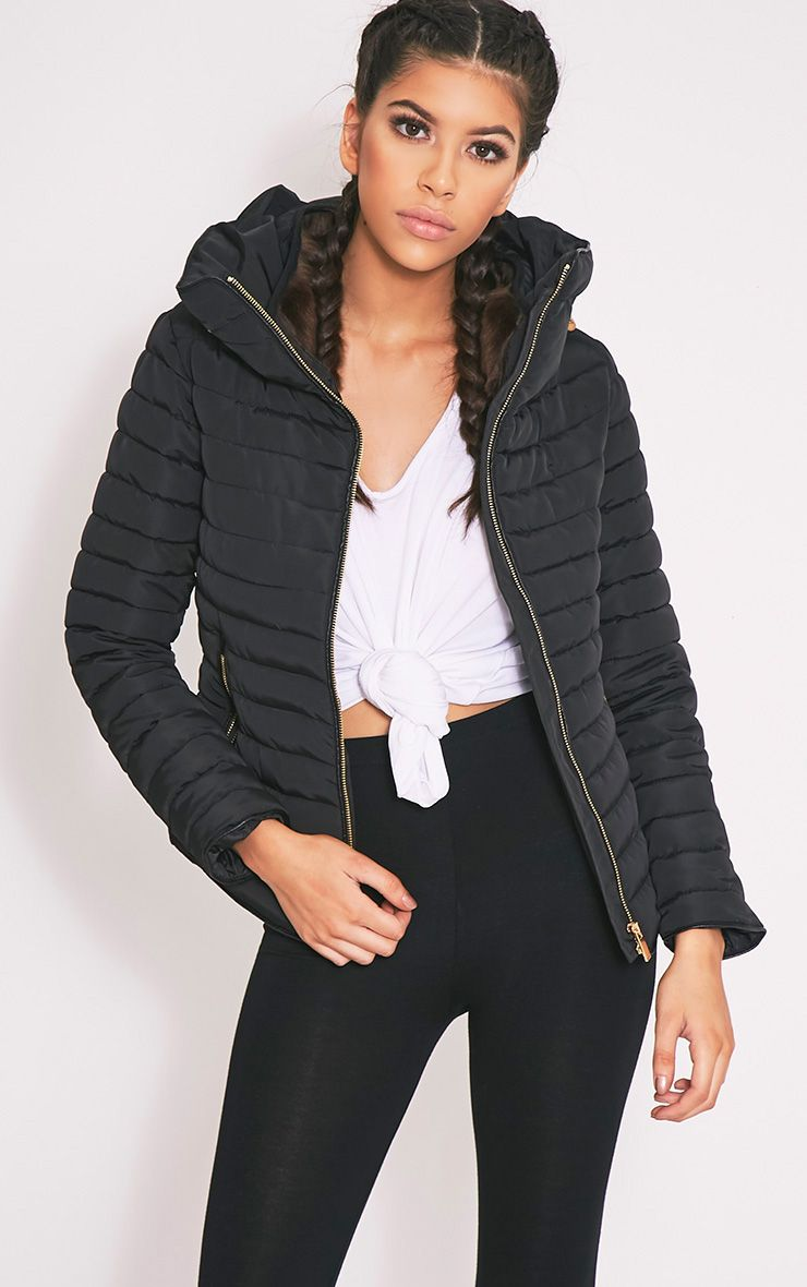 Mara Black Padded Jacket