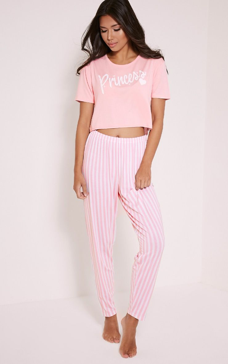 Princess Pink Pyjama Set 1