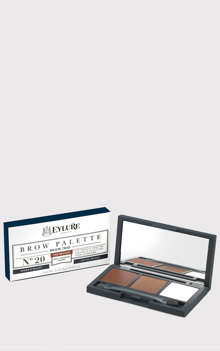 Eylure Medium Brown Brow Palette