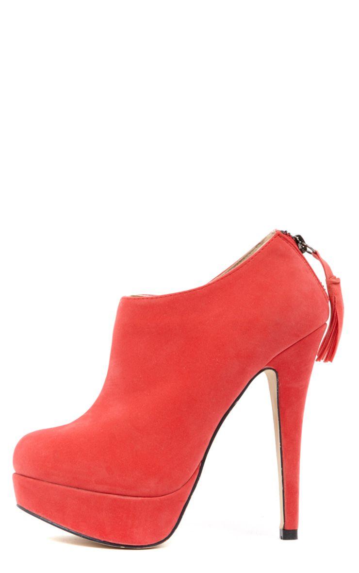 Rosie Pink Suedette Stiletto 1