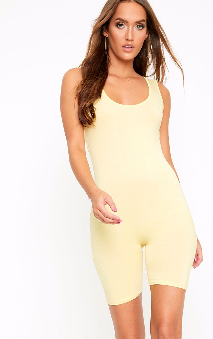 Lashanti Lemon Unitard