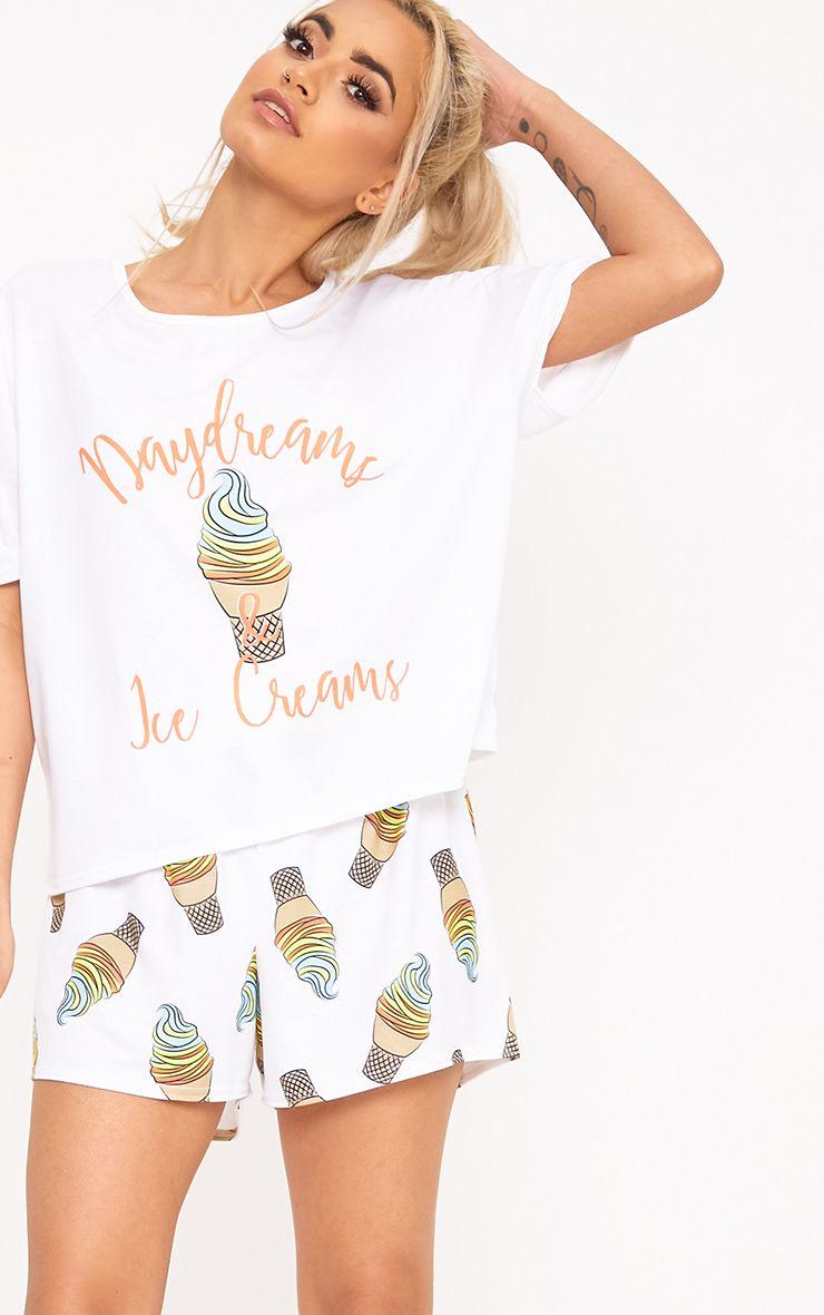 White Daydream PJ Set