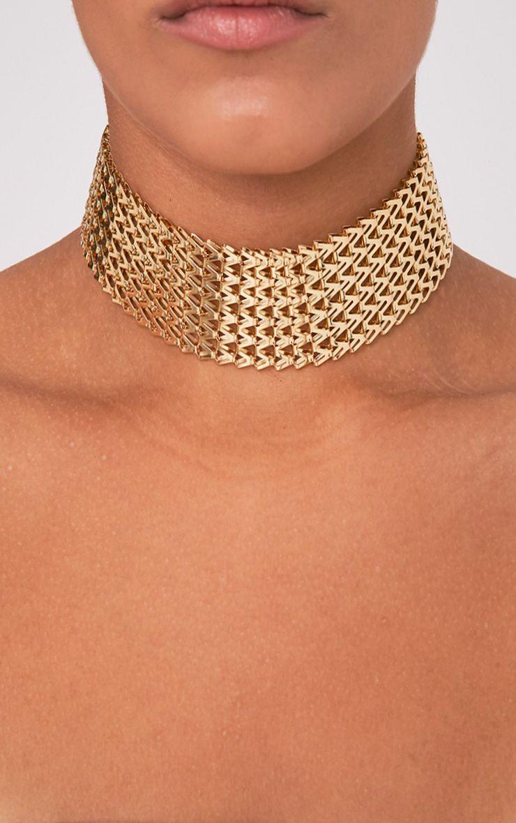 Klia Gold Chain Choker